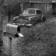 Mailboxcar Art Print