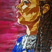 Maimouna Youssef Art Print