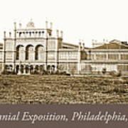 Main Building, Centennial Exposition, 1876, Philadelphia Art Print