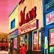 Main Steakhouse Blvd.st.laurent Art Print