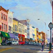 Main Street Nayck  Ny  Art Print
