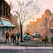 Main Street - Steven's Point Art Print
