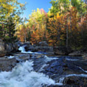 maine 38 Baxter State Park South Branch Stream Art Print