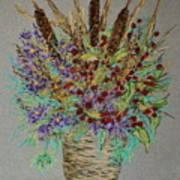 Maine Bouquet Art Print by Collette Hurst