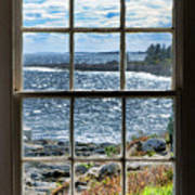 Maine Coast Picture Frame Art Print
