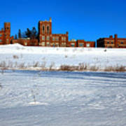 Maine Criminal Justice Academy In Winter Art Print
