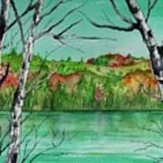 Maine's Autumn Finery Art Print