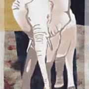 Majestic Elephant Art Print
