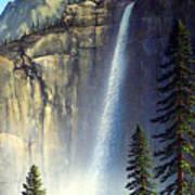 Majestic Falls Art Print