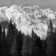 Majestic Mountains, British Columbia, Canada Art Print