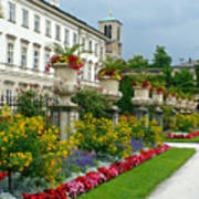 Majestic Salzburg Garden Art Print