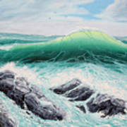 Majestic Sea Art Print