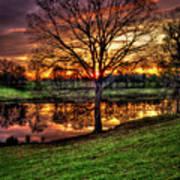 Majestic Sunrise Reflections Art Art Print