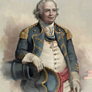 Major General Israel Putnam Art Print