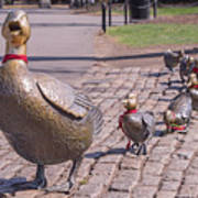 Make Way For The Ducklings Art Print
