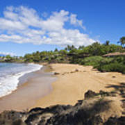 Makena, Changs Beach Art Print