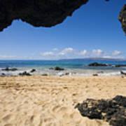 Makena View From Secret Beach Art Print