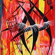 Makonde Dance Series Art Print