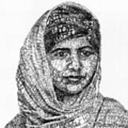 Malala Yousafzai Art Print