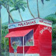 Malasada Stand Art Print