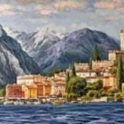 Malcesine Castle, Lago Di Garda Art Print