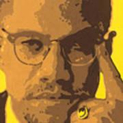Malcolm El Afroxicano Art Print