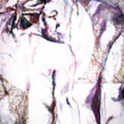 Male Female Nude   Art Print