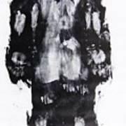 Male Nude Back Art Print