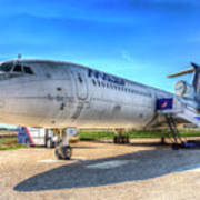 Malev Airlines Tupolev Tu-154 Art Print