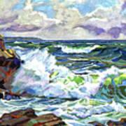 Malibu Cove Art Print