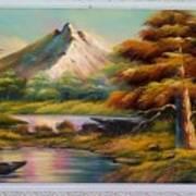 Malibu Hill Art Print
