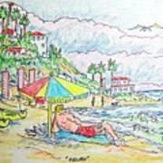 Malibu Art Print