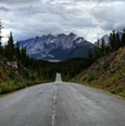 Maligne Lake Road Jasper National Park Art Print
