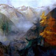 Mallnitz  Austria Art Print