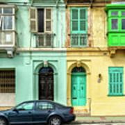 Maltase Style Doors And Windows  Art Print