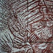 Mama Africa 2 - Plaque Art Print