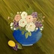 Mama's Kitchen Bowl Art Print