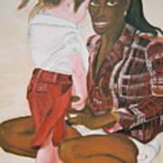 Mami Sandal Art Print