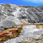 Mammoth Hot Springs3 Art Print