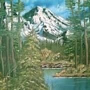 Mammoth Mountain Art Print