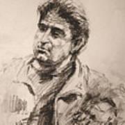 Man 5 Art Print