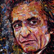 Man In Black Johnny Cash Art Print