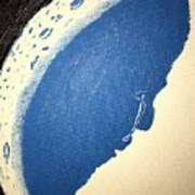 Man In The Moon Weeps Art Print