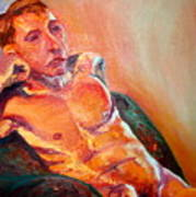 Man Nude Art Print