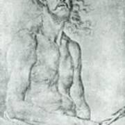 Man Of Sorrow 1522 Art Print