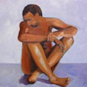 Man Study Art Print