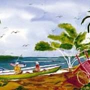 Manana Art Print