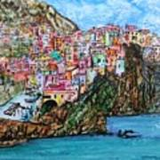 Manarola Art Print