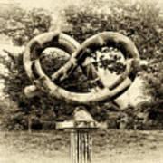 Manayunks Pretzel Park Art Print