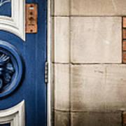 Manchester Doorway Art Print